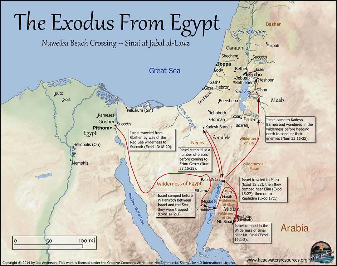 Old Testament Maps Set Pro Series Bible Maps Headwaters - Map of egypt canaan
